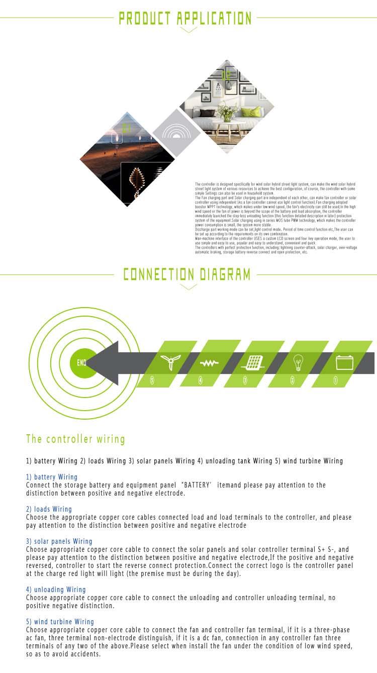 MPPT W Wind With W Solar VV Wind Solar Hybrid Charge - 12v 3 phase wind generator wiring diagram