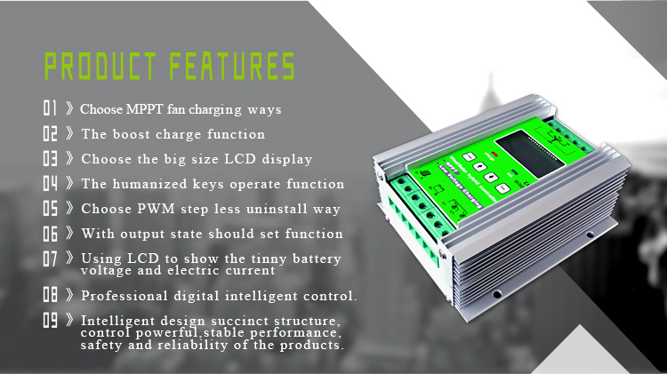 Wind Solar Hybrid Controller 48v Features