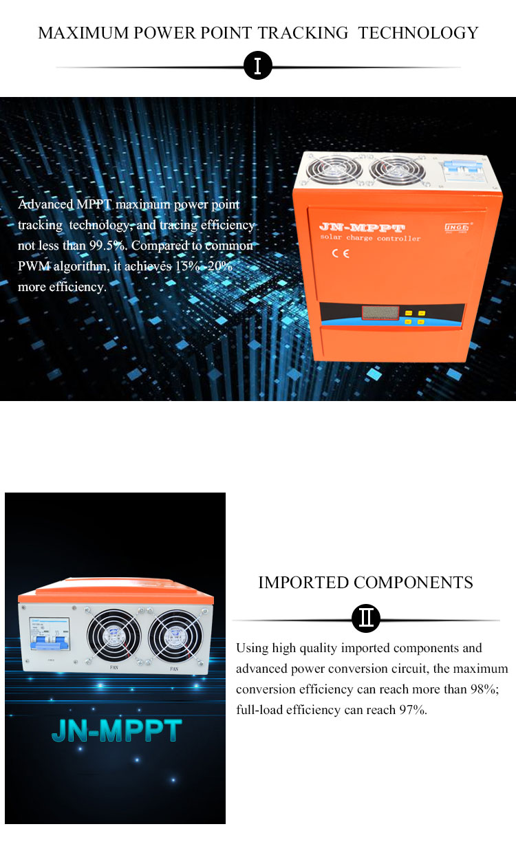 Mppt Solar Charge Controllersolar Energy Controller 145v Open Circuit Voltage More Details