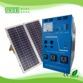 300W mini mobile solar power system homeuse with solar panel 100w battery 55AH