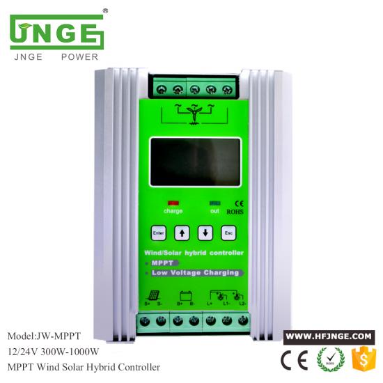 JNGE MPPT Wind And Solar Hybrid Charge Controller,12/24V