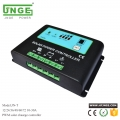 JN-T 10A 20A 30A Solar charge Controller with Power Display for household and street lamp