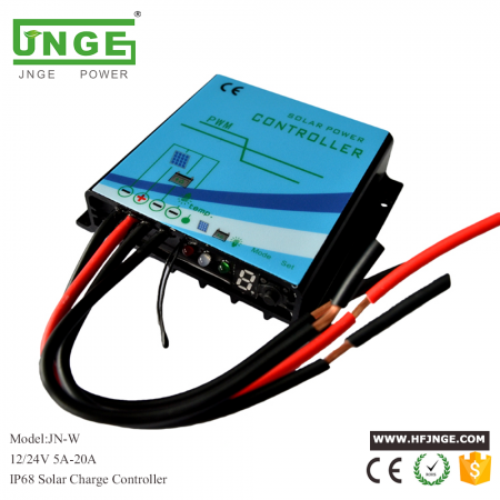 Solar Charge Controller 12V 24V 5A 10A 15A 20A with waterproof for street lamp or ourdoor use