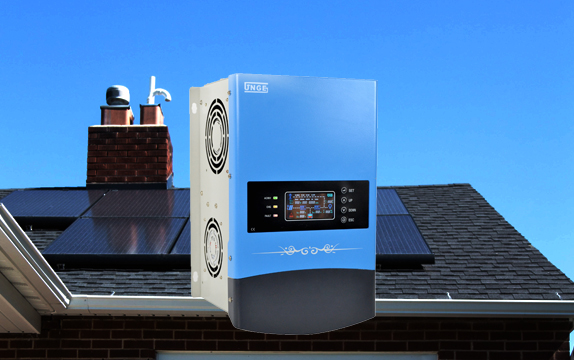 Hybrid Inverter With Buildt-in Solar Controller All In One