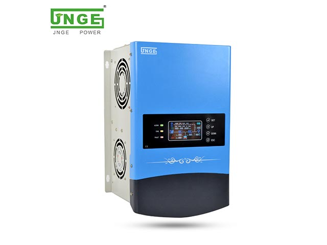 The latest launch JN-I series Hybrid inverter with built-in MPPT solar charge controller all in one machine